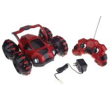 RC Stunt Monster Vehicle wHead Lights and Rechargeable Battery