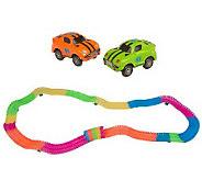 T31076 - Twister Trax 253pc Glow in the Dark Flexible Track w/2 Cars