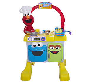 Sesame Street Elmo S Restaurant Play Kitchen Center