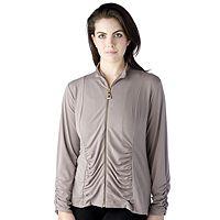 151000  George Simonton Twill Knit Zip Up Jacket