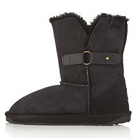 104122  Emu Ulong Lo V Shape Cut Side Strap Sheepskin Boot