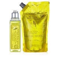 203922  LOccitane Citrus Verbena Shower Gel and Refill