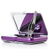 400292 - Simply Beauty Compact Dual Magnification Mirror With LED Light & Tweezers