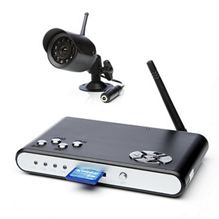 CnM Secure Wireless SD DVR Colour Camera with Night Vision 2GB SD Card
