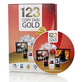 503511 - 123 Copy Gold Media Software Solution for Copying, Coverting & Burning DVDs