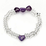 Links of London Sweetie Candy Heart Bracelet Sterling Silver