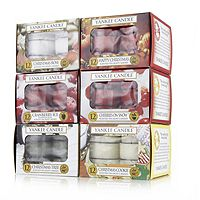 702119  Yankee Candle Set of 72 Christmas T Lights