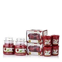 702477  Yankee Candle 30 Piece Cherry Delight Collection
