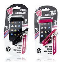 700198  Bunjee Set of 2 Mobile Phone Accessories