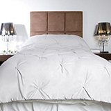 Kelly Hoppen Faux Silk Button Detail Quilted Bedspread