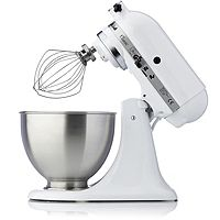 833719  KitchenAid Classic Mixer w Vegetable Slicer Extra 3L Bowl & Attachments