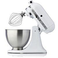 833719  KitchenAid Classic Mixer w Vegetable Slicer Extra 3L Bowl & Attachments