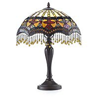 801556  Tiffany Style Lamour Table Lamp