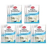 EasiYo Pack of 10 Vanilla Bean Yoghurt Smoothie 190g Sachets