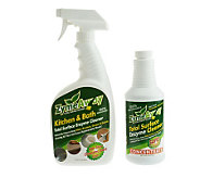 Zyme Away Total Surface Cleaner w/ 32oz Spray Bottle & 16ozConcentrate - V32105
