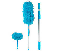 Don Asletts 3-piece Microfiber Duster Set with Extension Pole - V31106