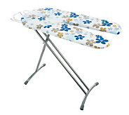 Eurosteam Split Board Ironing Board with Wire Iron Rest - V32018