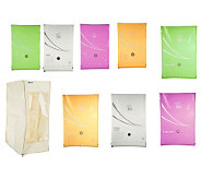 Space Bag 9-piece Tropical Colors Vacuum Seal Bag & Organizer Set - V32131