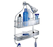 interDesign Rain Wide Shower Caddy - V118149