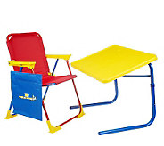 Table Mate Childrens Table & Chair with Activity Pouch - V31151