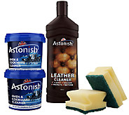 Astonish Multi-Purpose Cleaning Paste and Leather Cleaner Kit - V30977