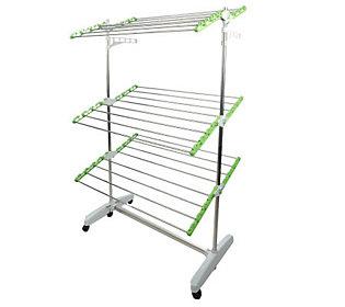 Green Rack Foldable Heavy Duty Drying & Storage Rack